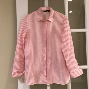 Massimo Dutti linen cotton shirt